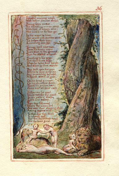 Blake  Songs of Innocence and Experience 36