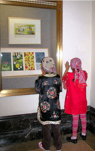 kids at show©Picture books